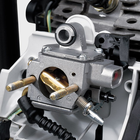 IntelliCarb™Compensating Carburetor - automatically adjust the air/fuel ratio when the air filter becomes restricted or partially clogged and maintains the engine's correct RPM
