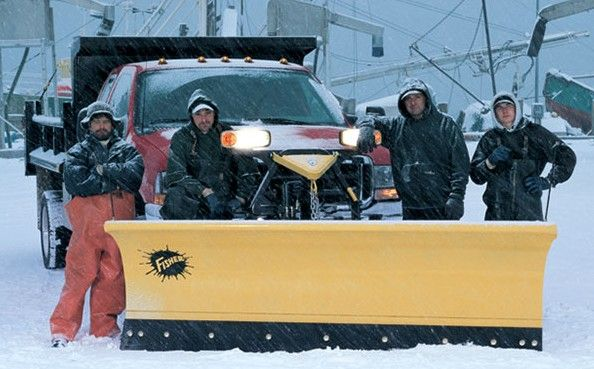 "the MC Series Snow Plow is a full 34"" high and made from 11 gauge steel"