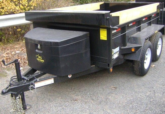 mini dump trailer by JDJ