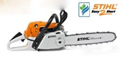 This saw shares similar features with the MS271 but in addition to the 2-MIX stratified scavenging engine technology, it also comes with the Easy2Start System and the Quick chain adjuster.
