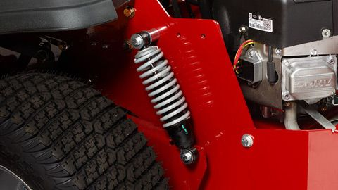 Consists of adjustable rear coil-over-shocks (shown) and front independent adjustable coil-over-shocks.
