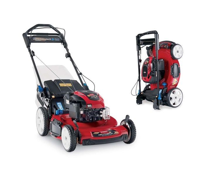 "Toro 20340 Mower with 22"" cutting deck and smart stow"