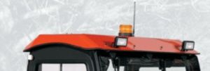Keep your workers & operators safe on the job. The V4211 Cab has a certified FOPS canopy, a great match to the RTV900 certified ROPS.