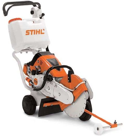 STIHL TS800 shown with optional stand