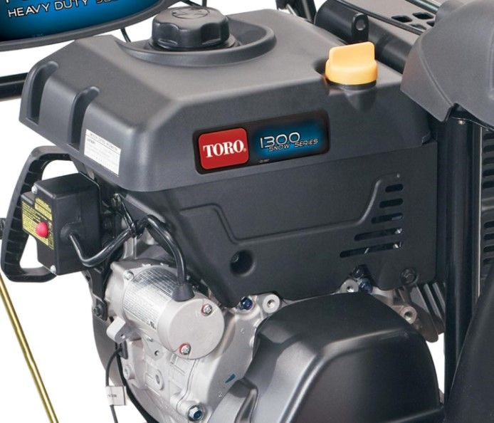 The smooth Toro Premium 4-cycle OHV engines provide years of dependable and powerful performance.