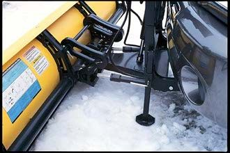 attaching your plow is simple!