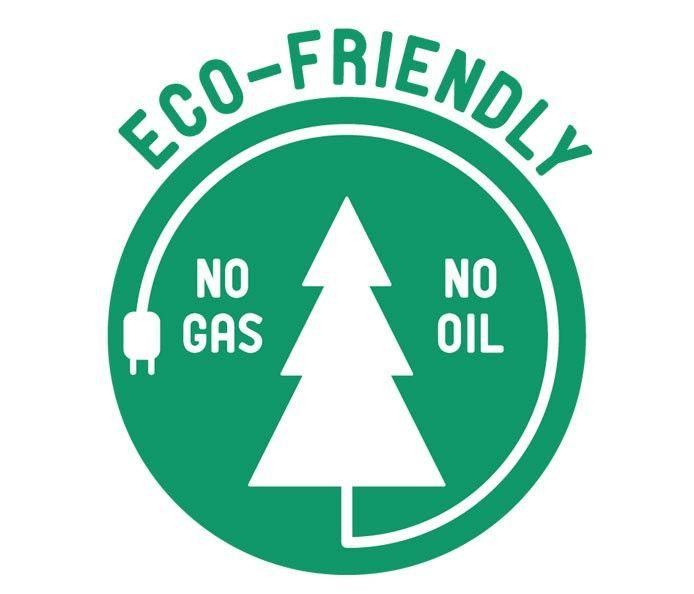 Virtually maintenance free. No gas, no oil - just press and go