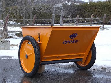 Epoke Epomini 20 Tow-behind Spreader