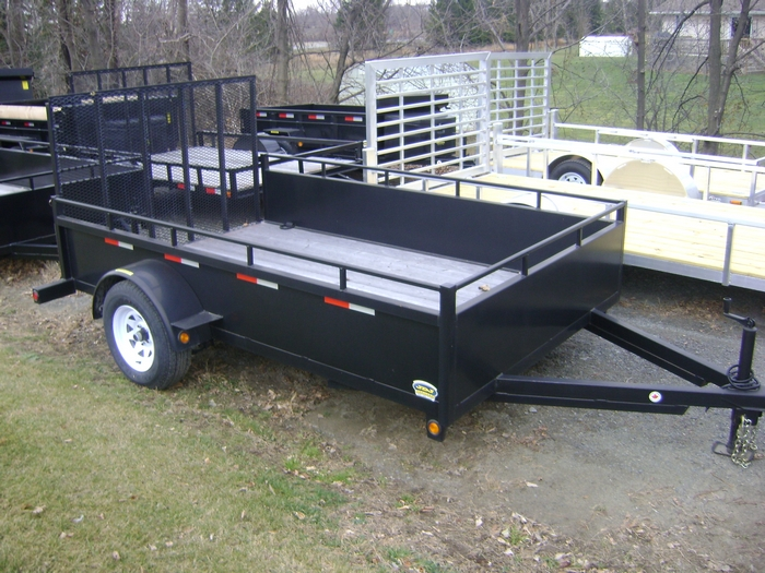 JDJ General Duty Landscape Single Trailer (6' W x 12' L) GDLS 612