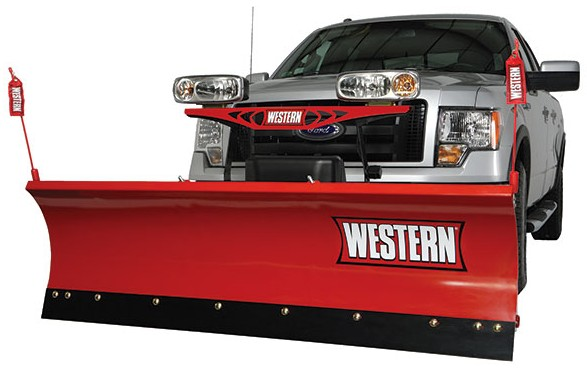 Western 7.5 HTS Snowplow Package with Hand Held Controller