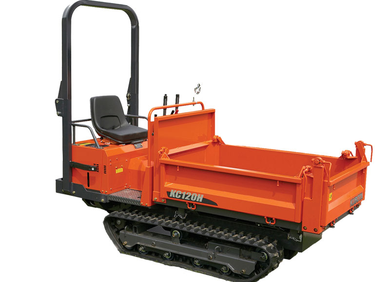 Kubota KC120HC-4 Rubber Track Carrier 13Hp