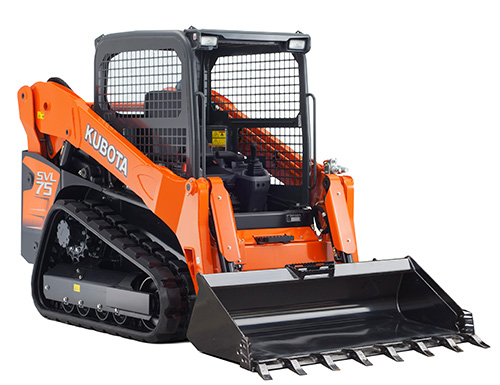 Kubota SVL75-2 Self Leveling Track Loader Skid Steer 75 Hp