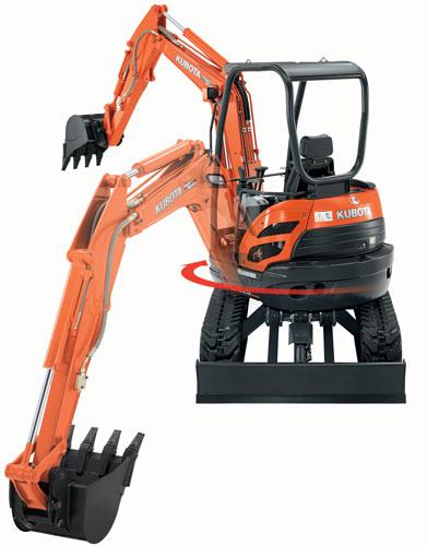 Kubota U25-HGS Excavator 2.5 Ton