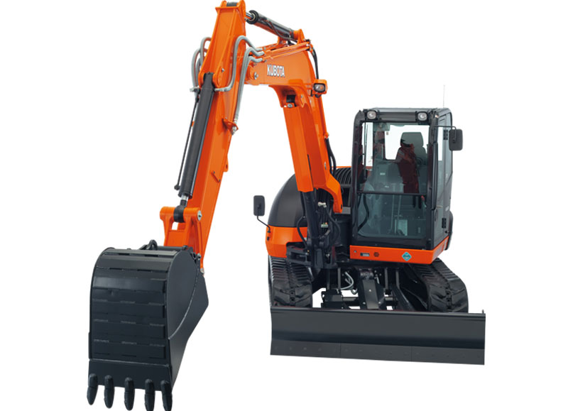 Kubota KX080-4 Excavator 8.4 Ton