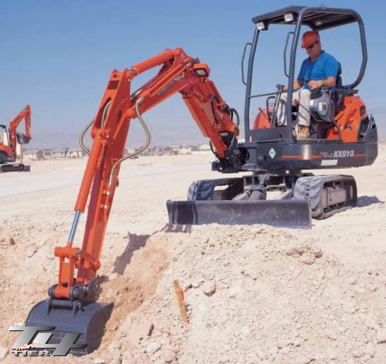 Kubota KX91-3HGLS2 Canopy Excavator 3.2 Ton