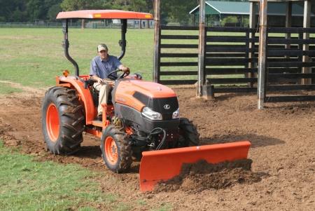 Kubota L2161A L Series Tractors Blade