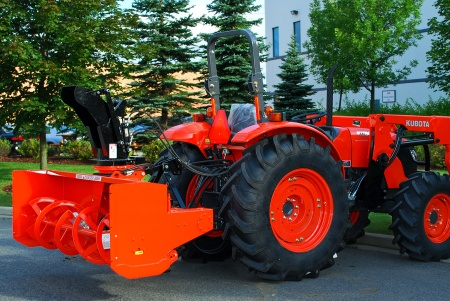 Kubota L2880 Rear-Mount L Series Snowblower