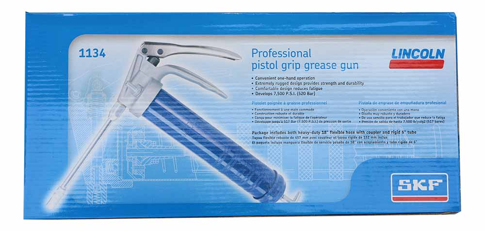 Lincoln Grease Gun with Professional Pistol Grip