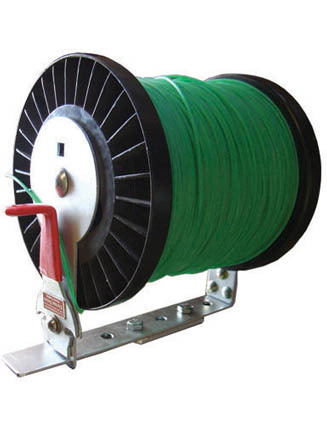 Green Touch Xtreme Series Line Spool Rack with Cutter XD105 for Open and Enclosed Trailers