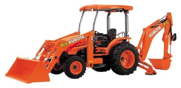Kubota M Series Tractor-Loader-Backhoe M59TLB 59hp