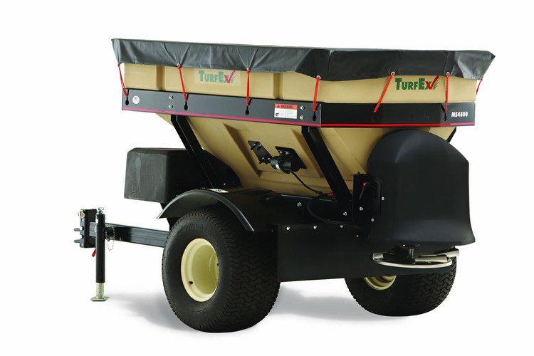 TurfEx Tow Behind Spreader MS4500