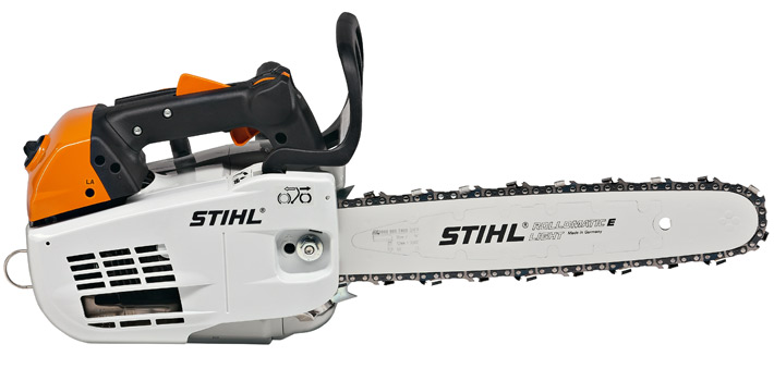 "STIHL MS201T Precision Arborist Chainsaw with Top Handle 35.2cc 16"" bar"