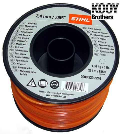 STIHL .95 Trimmer Line 3lb Roll