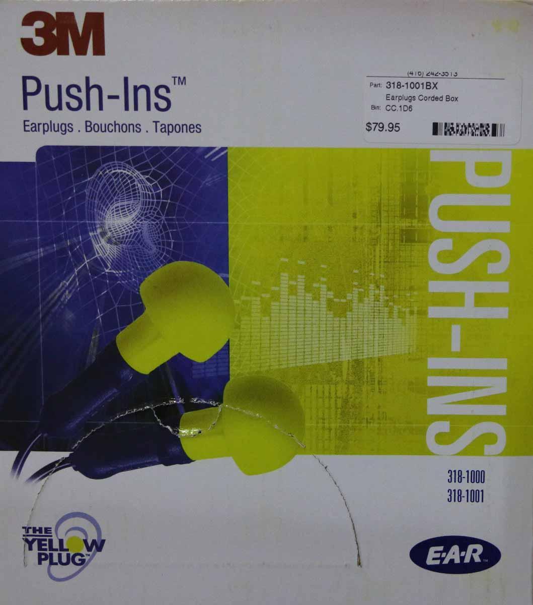 3M Push-In EAR plugs