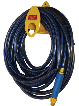 Green Touch Rope/Hose/Chain/Cord Rack BI039 for Enclosed Trailers
