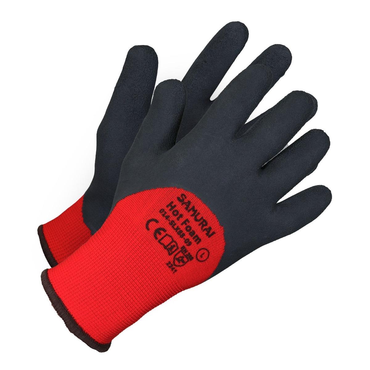 Samurai Hot Foam Insulated Work Gloves