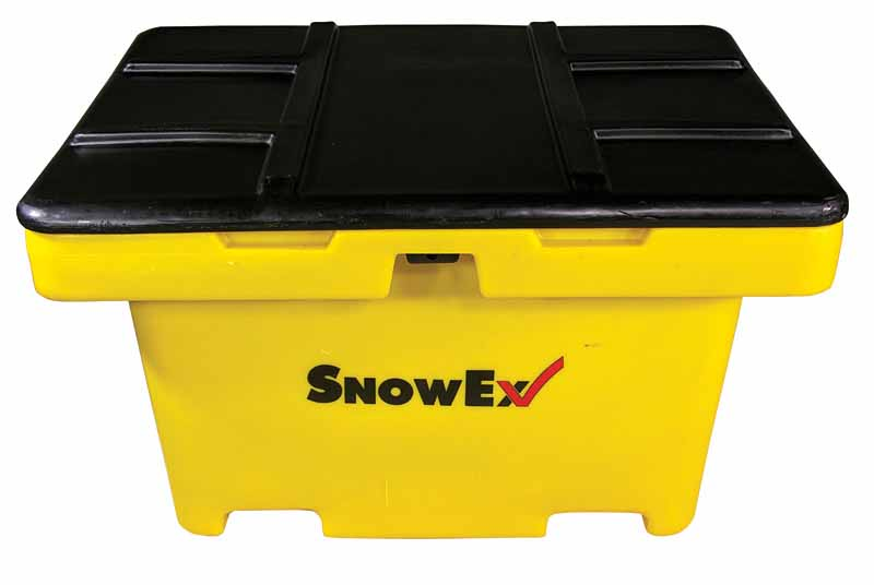 SnowEx 11cu.ft. Capacity Heavy Duty Salt/Sand Storage Box SB-1100