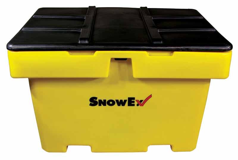 SnowEx 18 cu.ft. Capacity Heavy Duty Salt/Sand Storage Box SB-1800