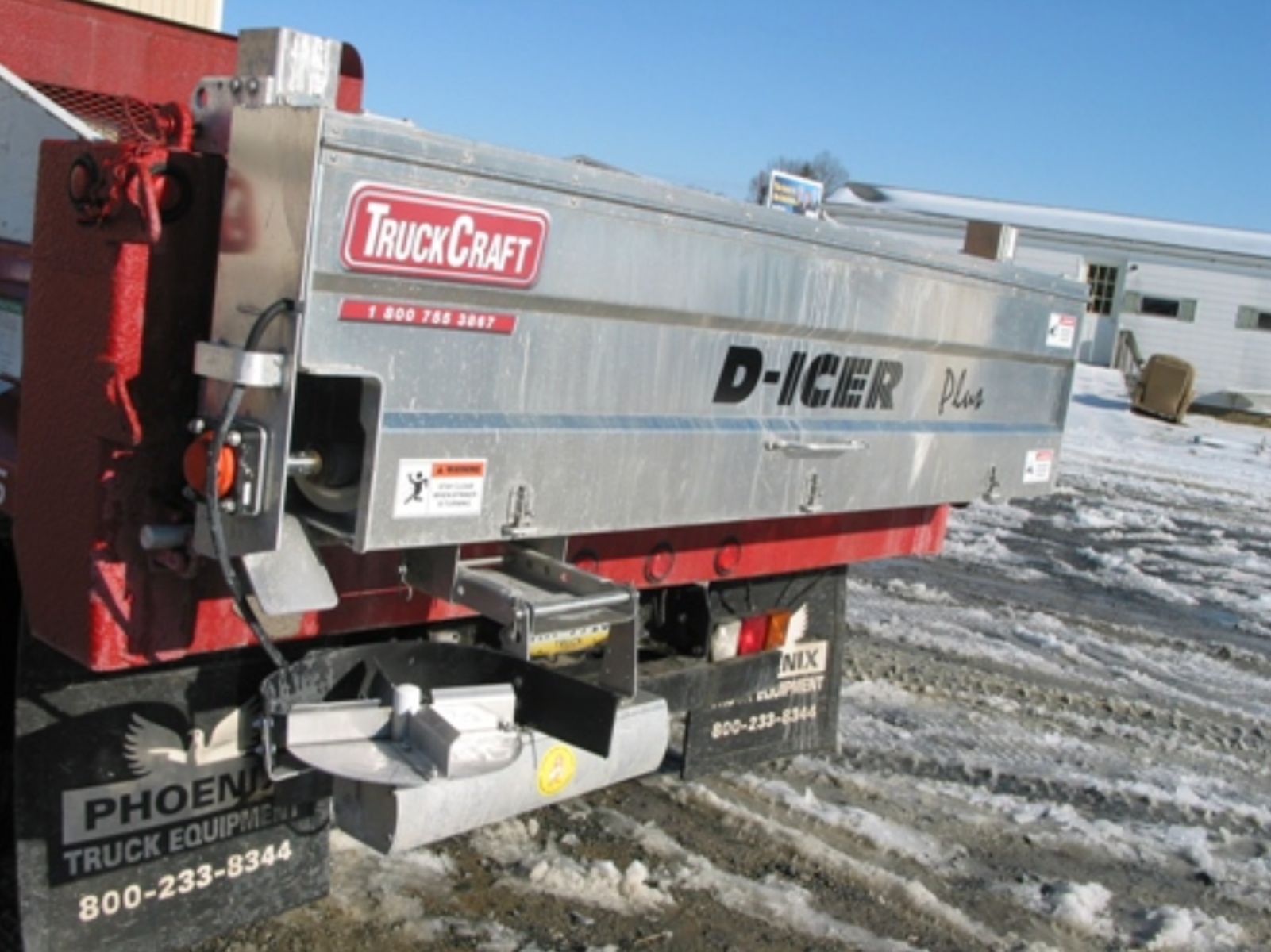 Truck Craft TC-140 PLUS D-ICER Salt Spreader