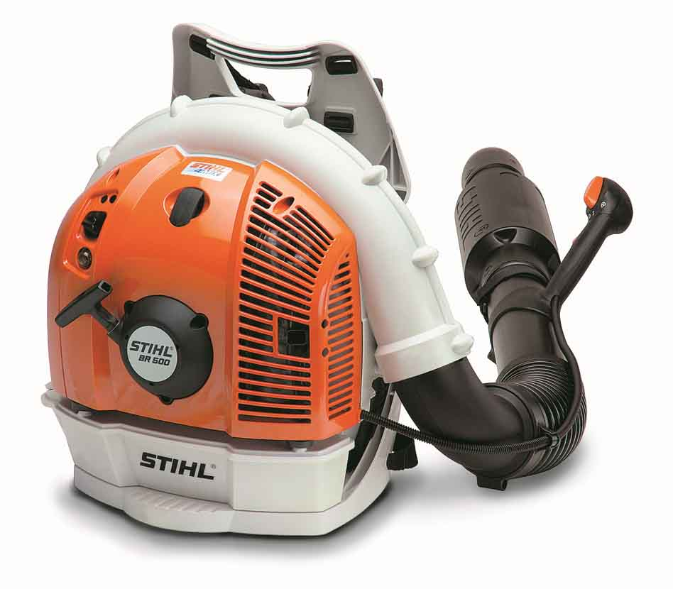 STIHL BR 500 Low Noise Backpack Blower 64.8cc