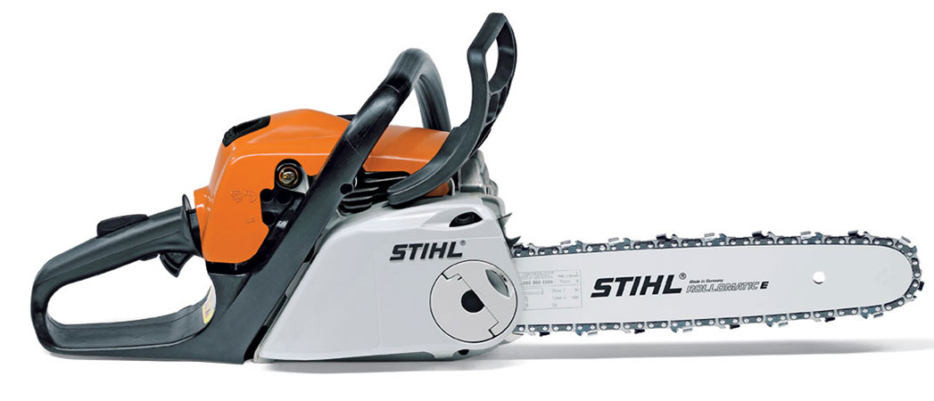 "Stihl MS 211 Chainsaw with Low Emissions 35.2cc with 16"" bar"