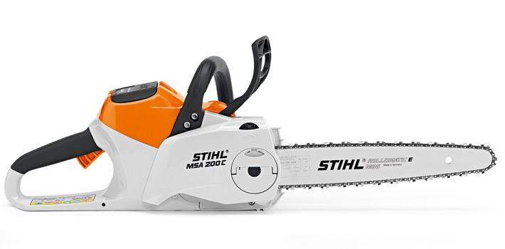 "STIHL MSA 200 C-BQ Chainsaw Lithium-Ion Battery Powered with 14"" bar"