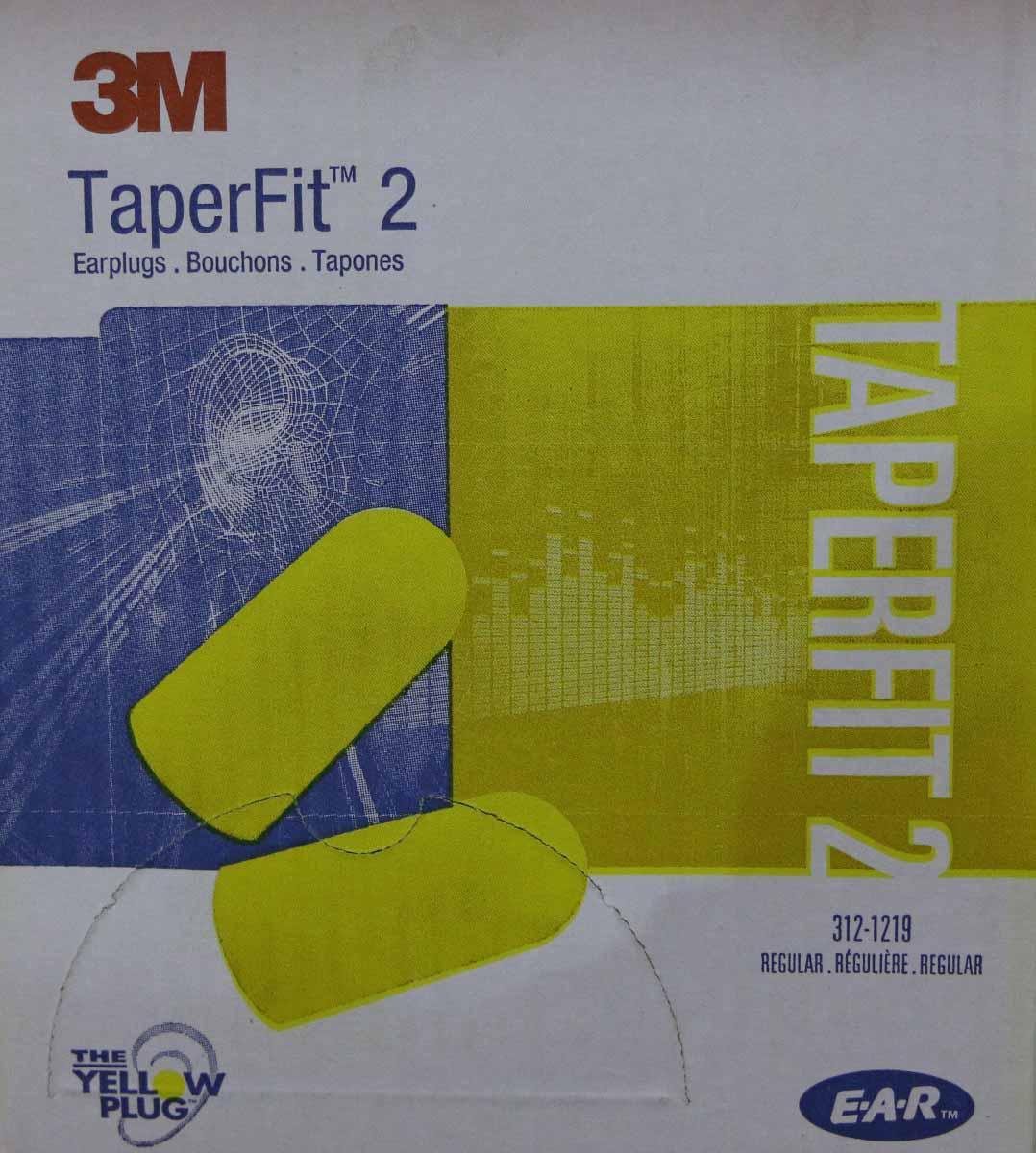 3M TaperFit2 Single-Use Ear plugs