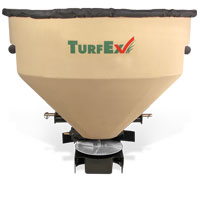 TurfEx TS1200E Large capacity Electric Driven Equipment Mounted Spreader