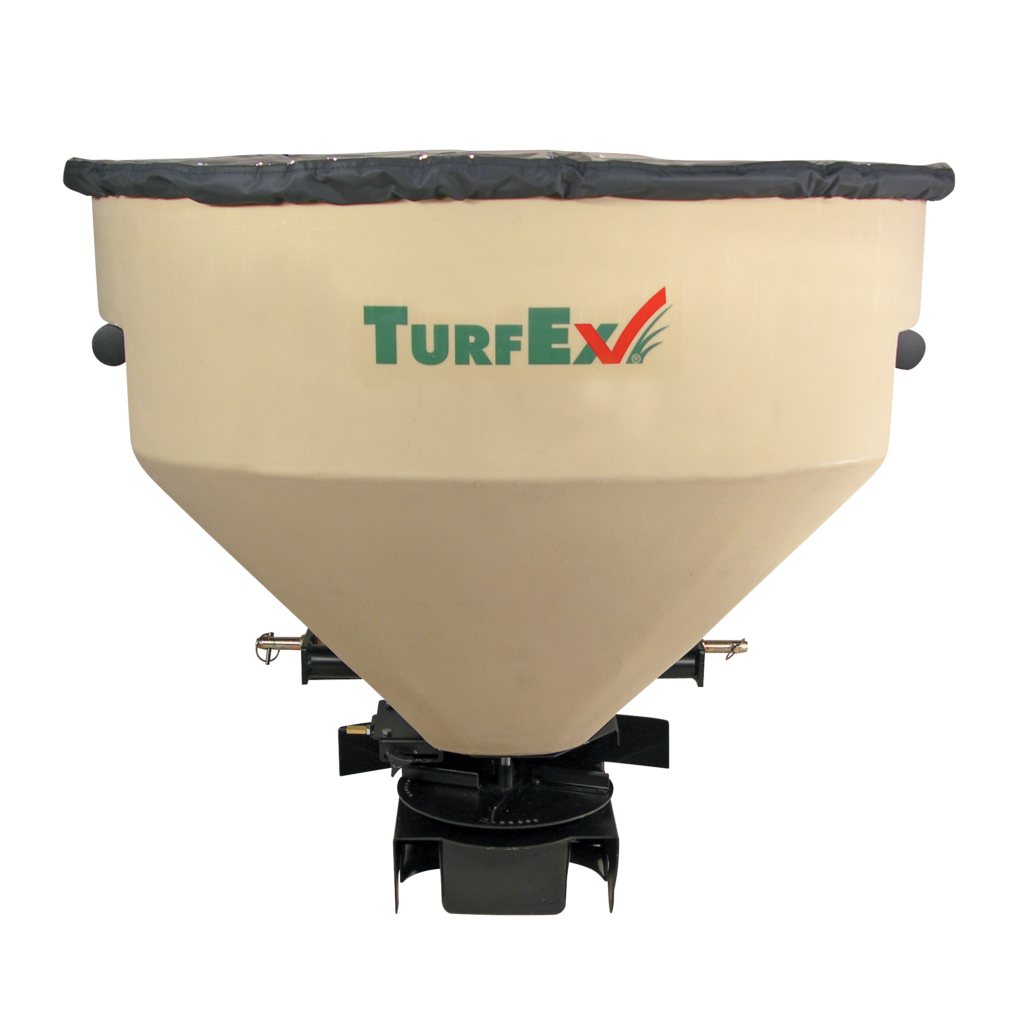 TurfEx TS1200P Large capacity PTO Equipment Mounted Spreader