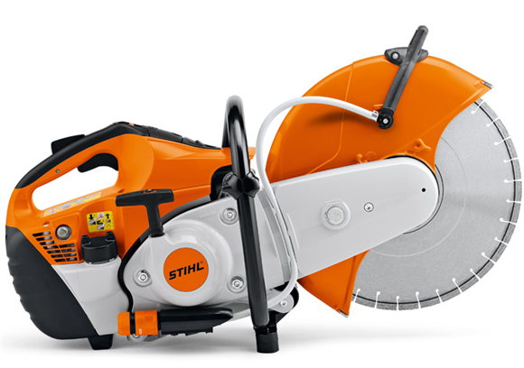 "STIHL Cut-off Saw TS 480i with Electronic Fuel Injection and 12"" wheel"