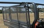 Kubota V4350 Rear Cargo Screen