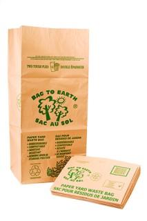 Paper Yard Waste Bags - Bundle of 60
