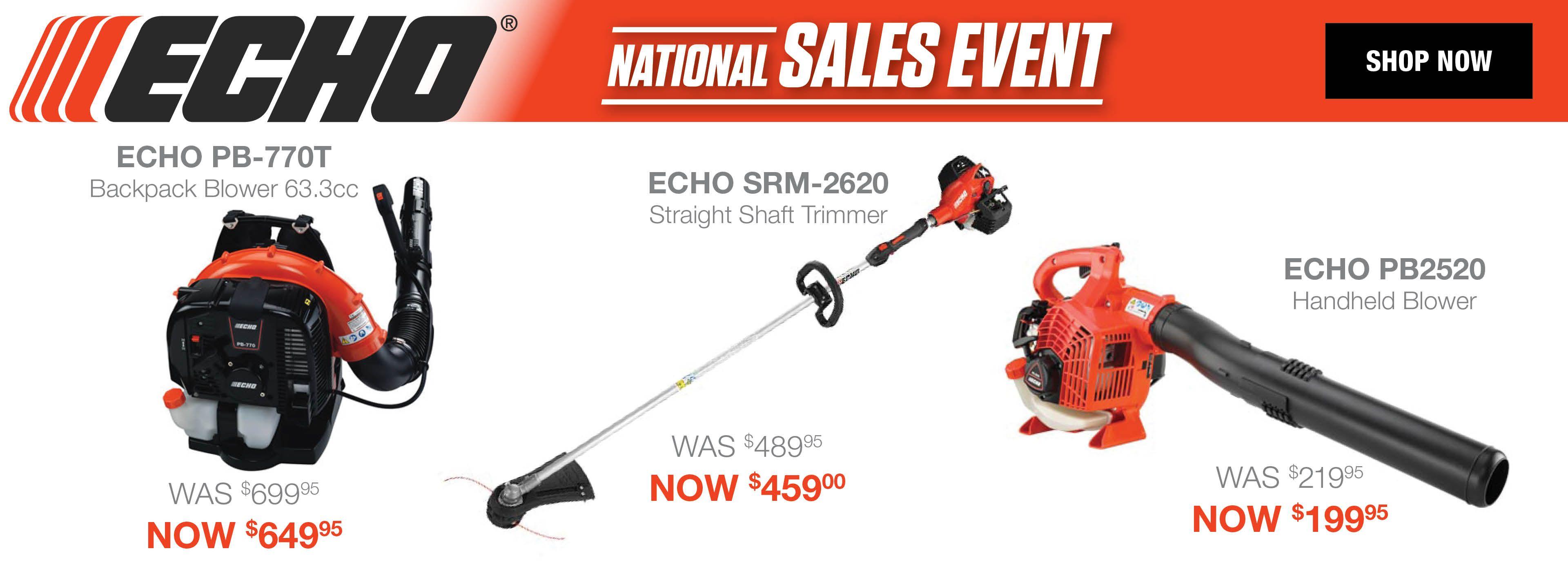 ECHO National Savings Event Spring 2019