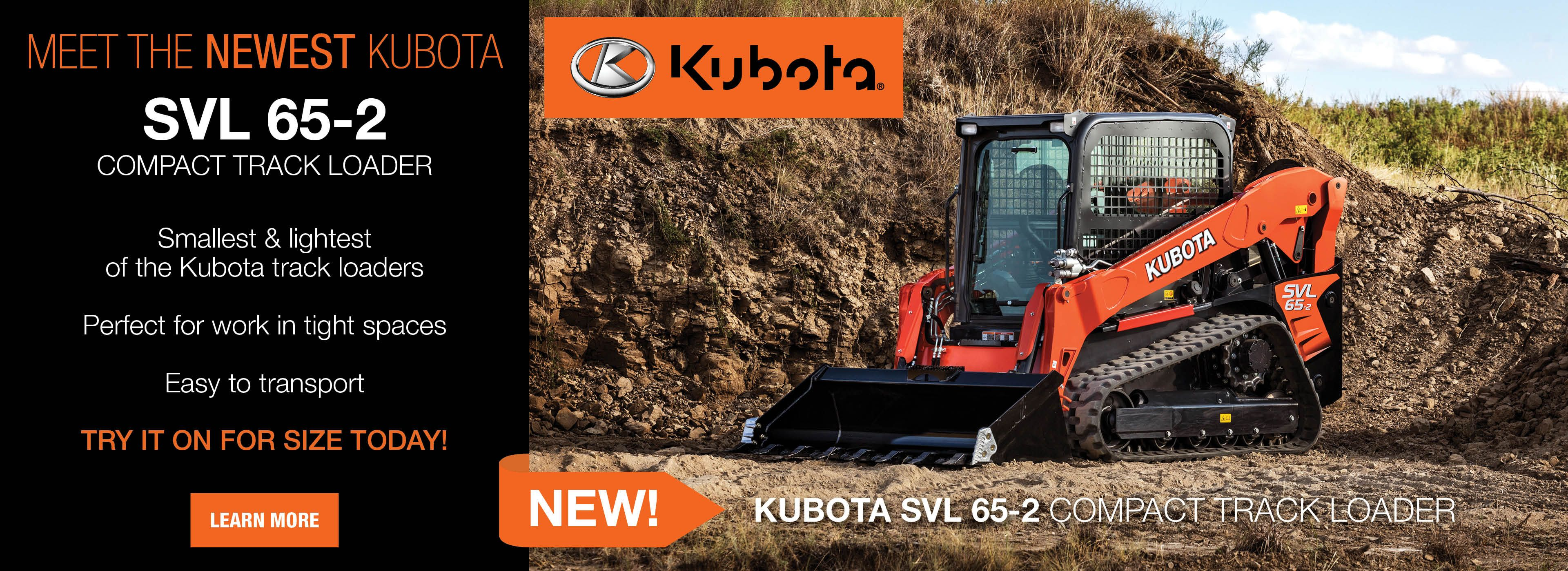 NEW Kubota SVL65-2!