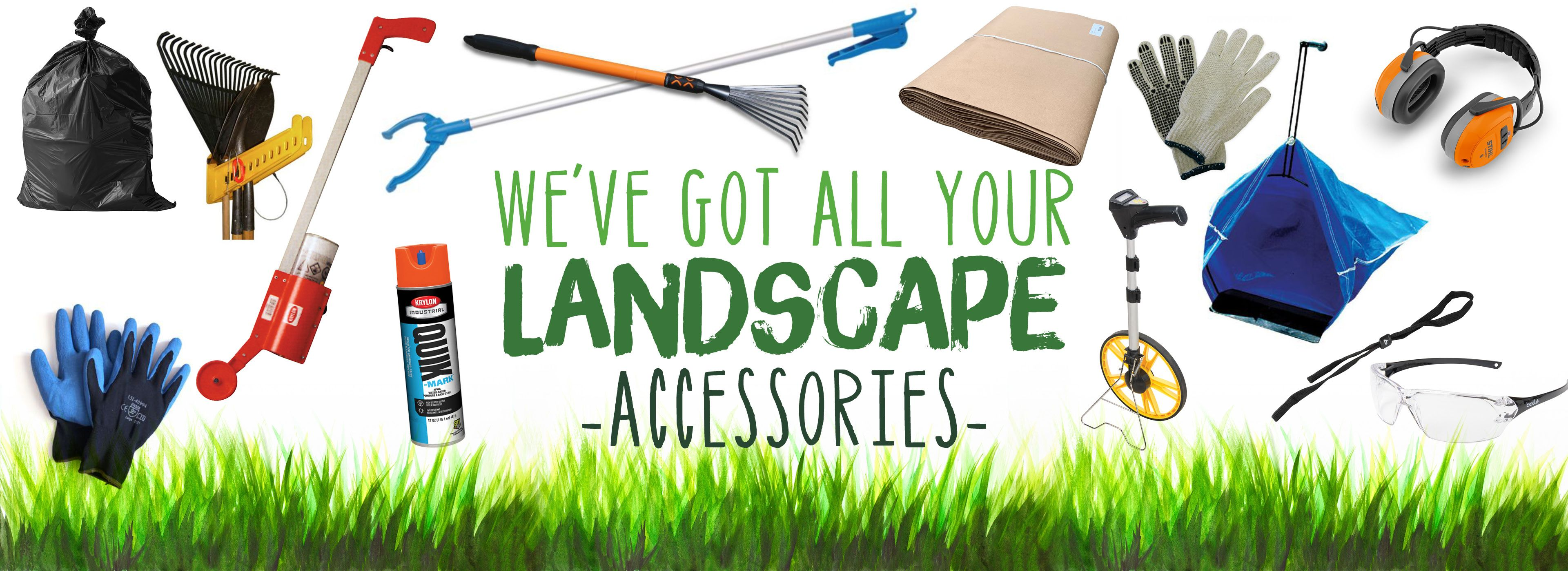 Spring Clean Up Accessories