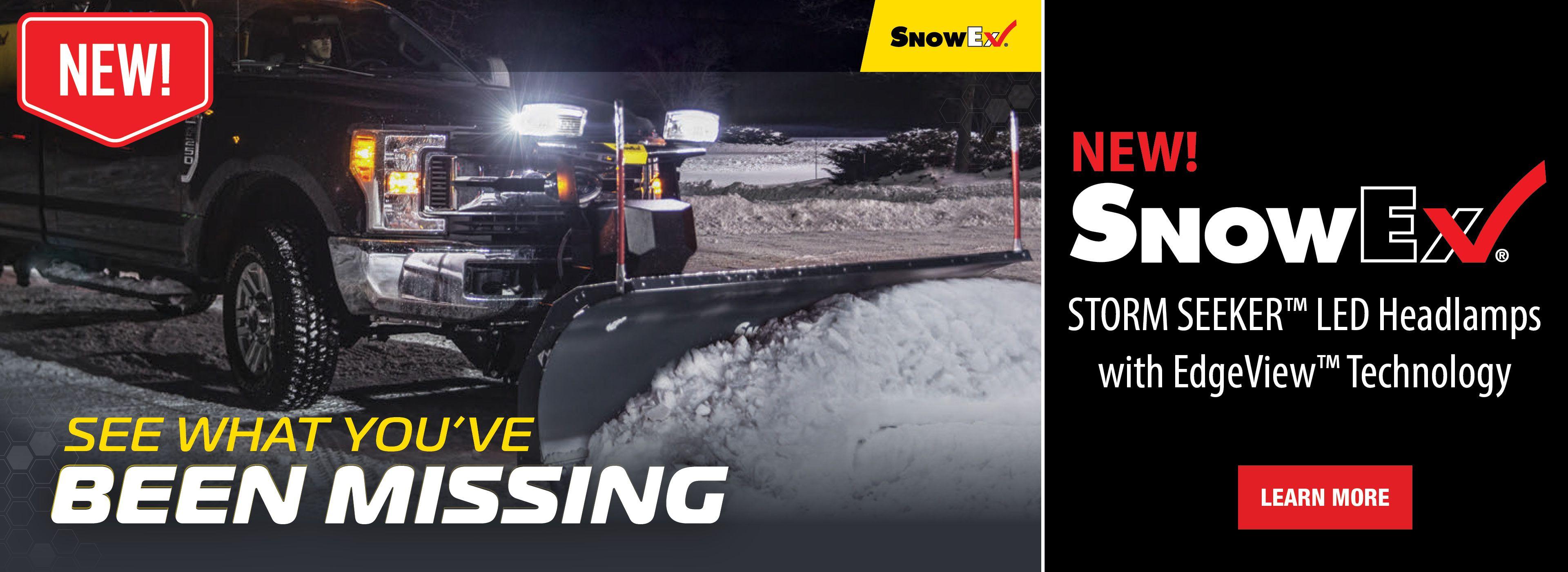 SnowEx StormSeeker LED Lights