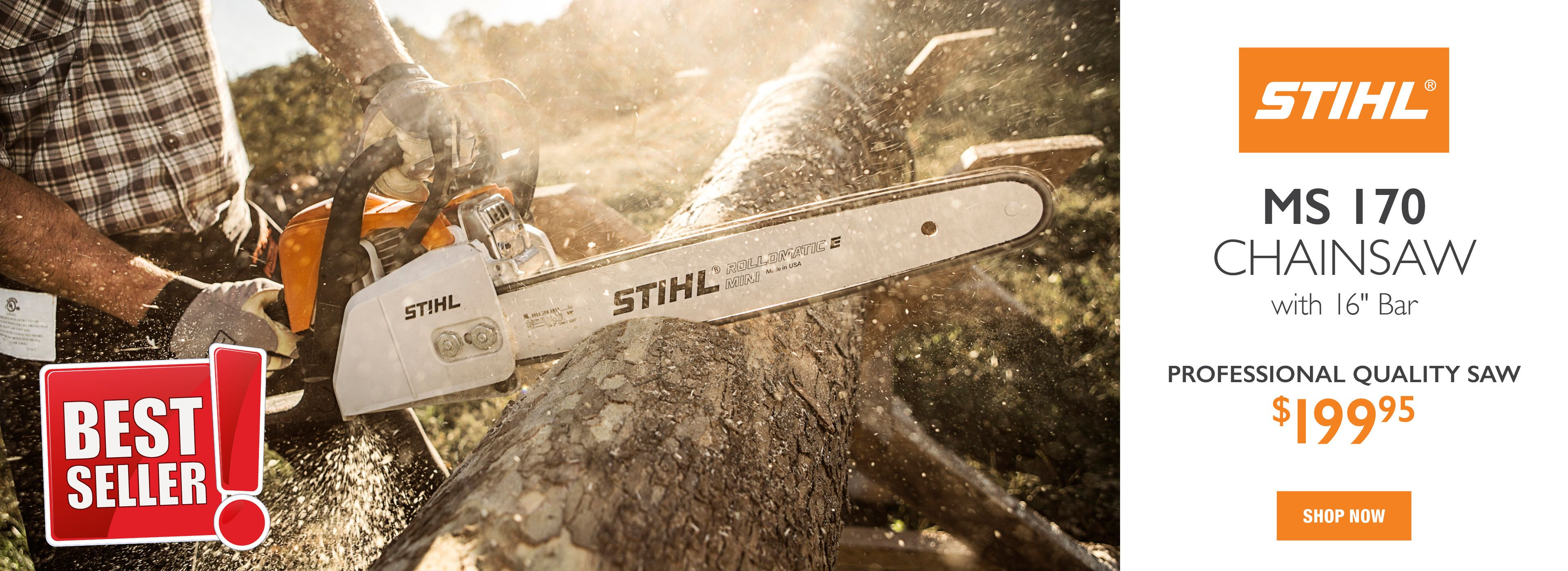 Best Seller STIHL MS 170 Chainsaw