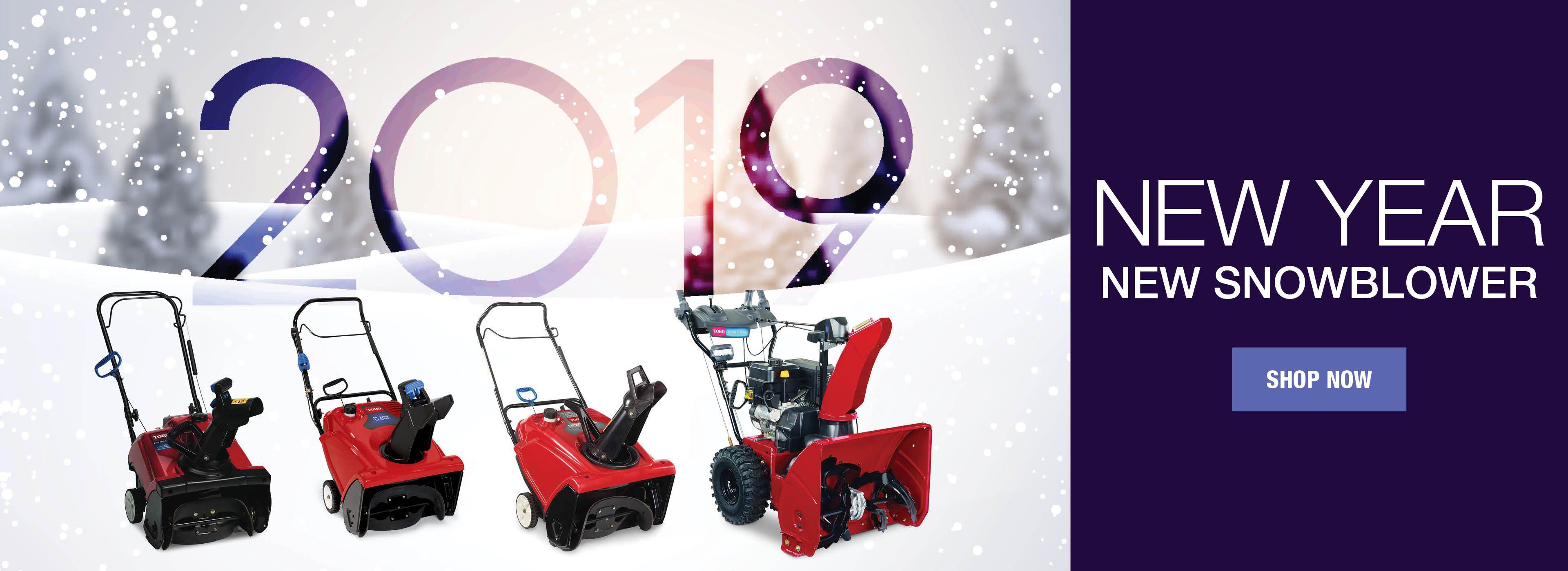 New Year - New Blower