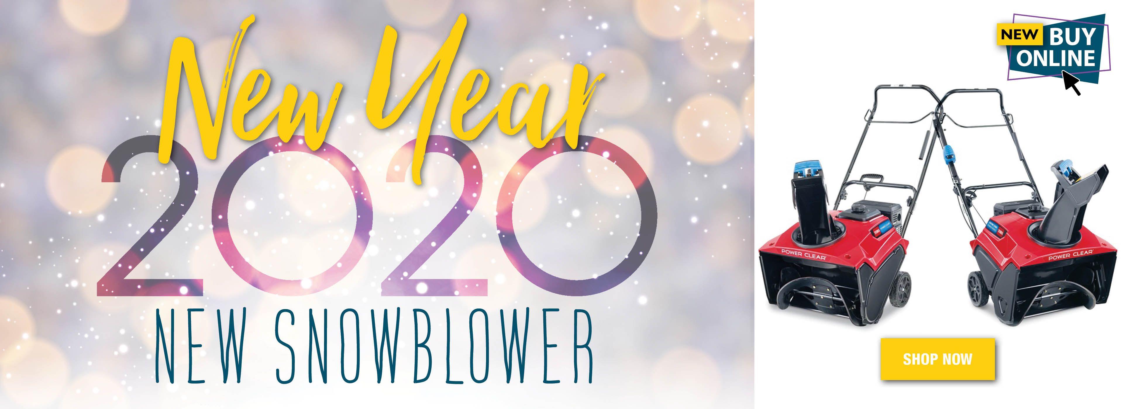 New Year New Snowblower 2020
