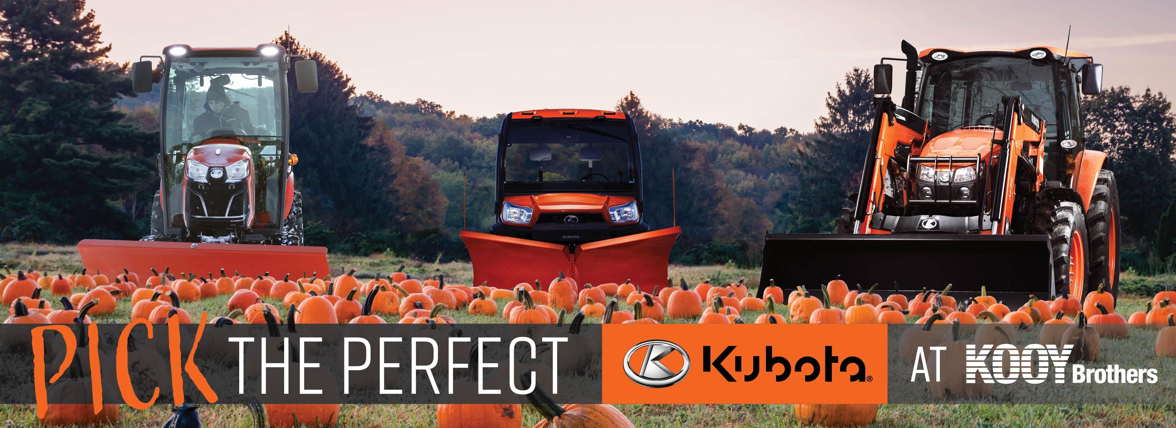 Kubota Halloween Banner